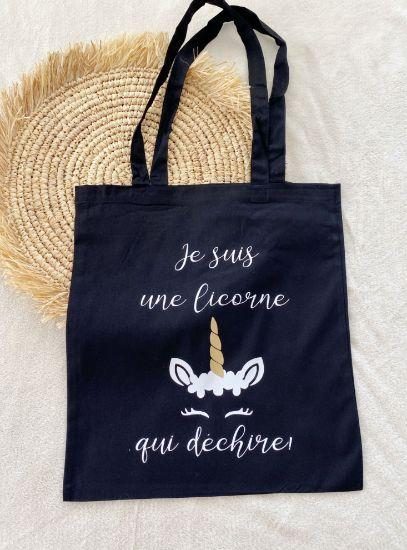 Image de Tote Bag Licorne
