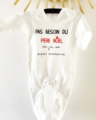 "Image de Pyjama ""Pas besoin"""